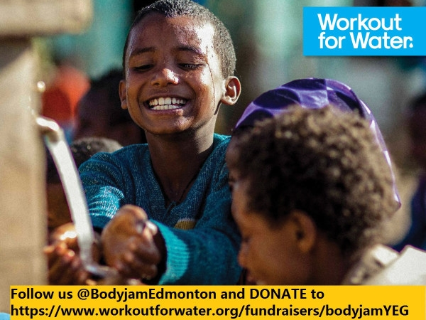 Les Mills | UNICEF - Workout for Water - BODYJAM EDMONTON
