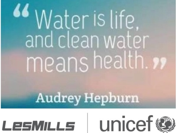 Les Mills | UNICEF - Workout for Water - Johanna Prim